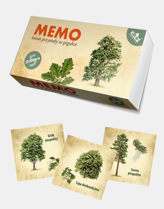 Gra edukacyjna MEMO-5 – Drzewa
