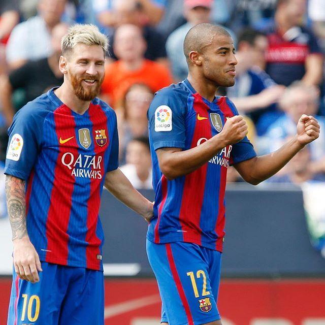 FORÇA BARÇA!!!  #Rafinha #Messi #FCBarcelona #igersFCB #photos @fcbarcelona @leomessi @rafinhaaa93