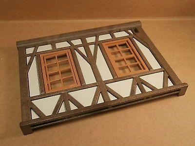 Playmobil Ritter Ritterburg Wand Fachwerkhaus  Fachwerk mit Fenster #10607