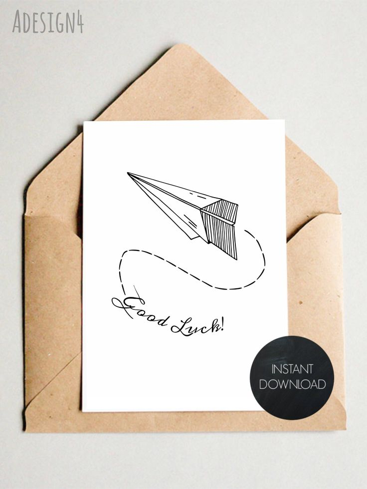 Printable Paper Plane Write, Good Luck Digital Illustration -Exams, New Job, Interview Gift -Minimalist Wall Art- Instant Download- DIY Card  This is the world`s best paper airplane with space technology! It`s will deliver your greetings to your friends or family members very quickly. Trust me :)  Instant digital download included: -jpg ( 121.91KB - 1586x1983 pixels - 96dpi - 8x10 ) -png ( 243.98KB - 1586x1983 pixels - 8x10 )  The perfect print size is 20x25 but You can printed in 9...