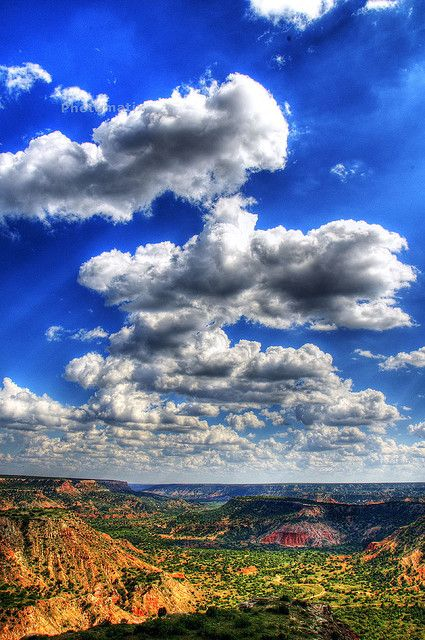 Palo Duro Canyon State Park in the Texas panhandle.