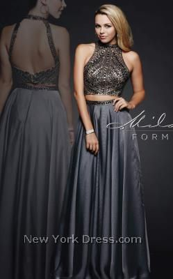 Prom 2016 Dresses at NewYorkDress from top celebrity designers! Choose from over 3,000 Prom styles. Low prices guaranteed. Our prom 2016 dresses from major designers to more moderate prices allows for one to have the full range of prom options. Whatever ones prom needs may be, New York Dress offers one of the largest selection of Prom Dresses. Hot, Trendy and Glamorous! Milano Formals E1940 - NewYorkDress.com