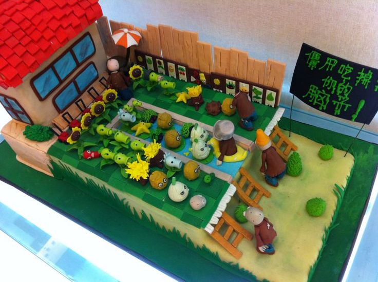 Fun Photos: 'Angry Birds' and 'Plants vs. Zombies' Cakes + More ...
