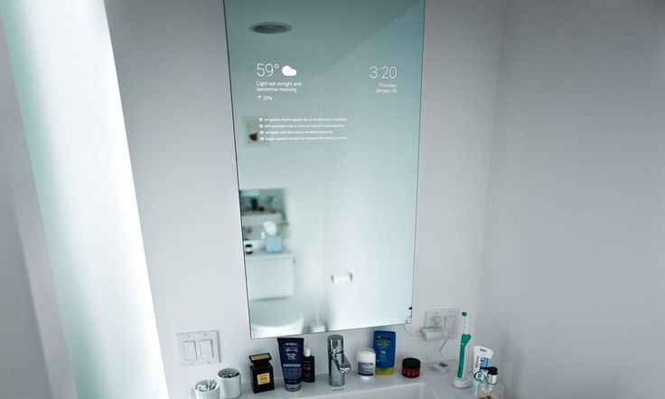 The Bathroom Smart Mirror Designed by a Google Engineer