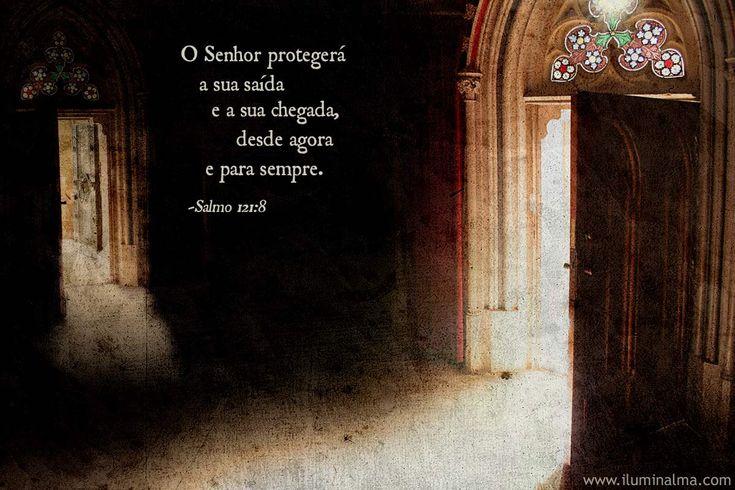 Salmo 121:8 § il Signore ti proteggerà quando entri e quando esci da ora e per sempre §