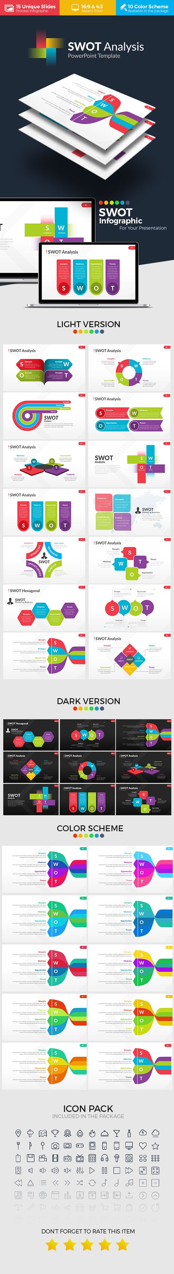 SWOT Analysis  #1920x1080 #innovation process • Download ➝ https://graphicriver.net/item/swot-analysis/18193001?ref=pxcr