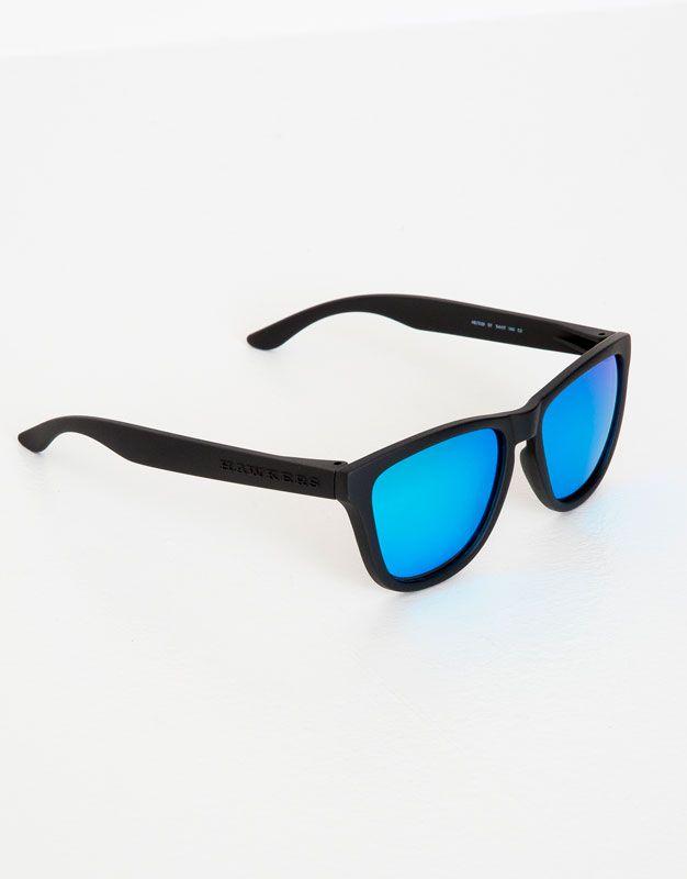 :Okulary przeciwsłoneczne hawkers carbon black clear blue one