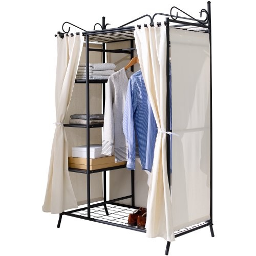 Liamare Kleiderschrank Breezy mit Baumwollbezug | Schlafzimmer Shop