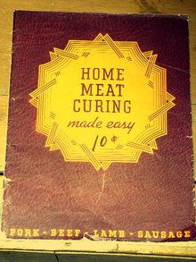 A classic on curing meat.  I'm pretty sure my Mom had this book.