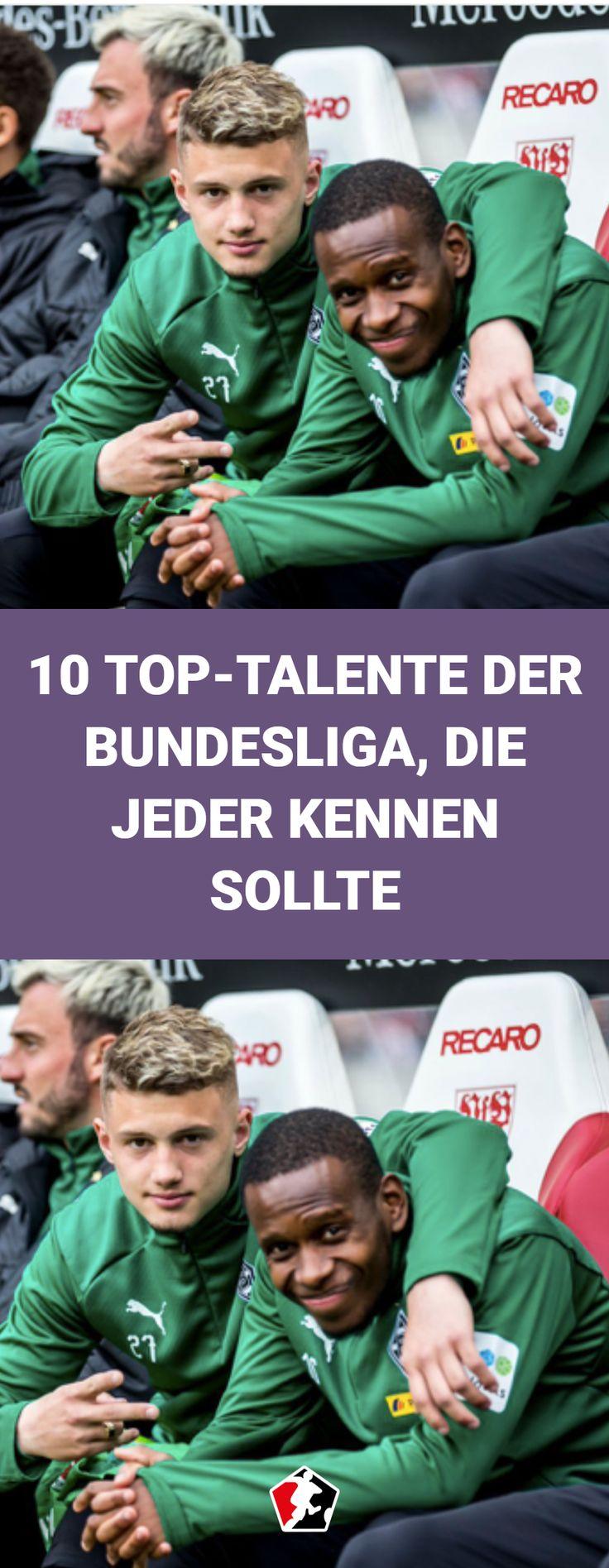 Sie zählen zu den besten U-21-Spielern Europas. 10 ...
