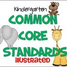 My+newest+product+is+here!+  This+is+a+Kindergarten+Common+Core+Standards+kit+with+the+standards+rewritten+in+kid+friendly+language+and+with+illust...