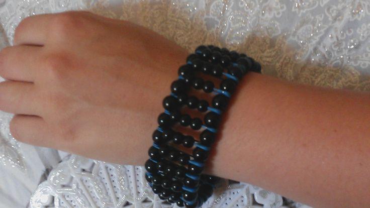 DIY Браслет из булавок / Bracelet pins