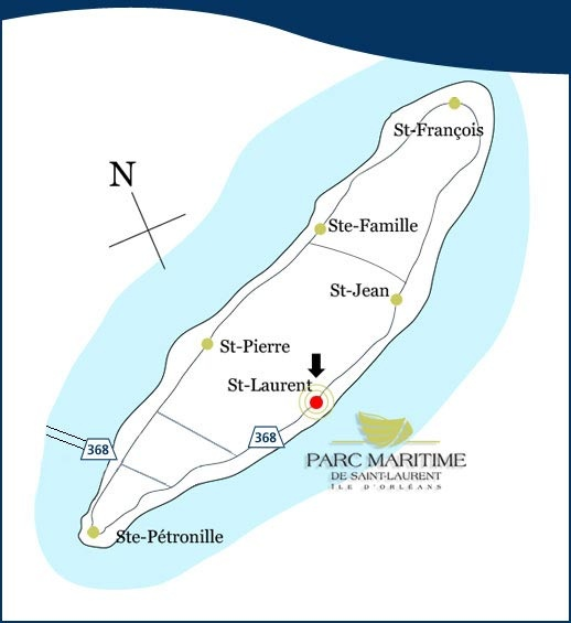 "Map of ""Ile d'Orleans"""