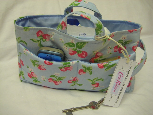 Cath Kidston Fabric'Strawberry' Large Handbag Organiser £26.95