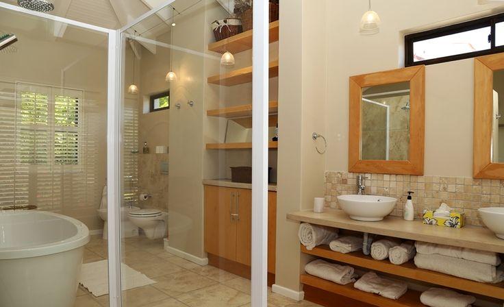66 on 8th Street: En-Suit Bathroom.  FIREFLYvillas, Hermanus, 7200 @fireflyvillas ,bookings@fireflyvillas.com,  #66on8thStreet #FIREFLYvillas #HermanusAccommodation
