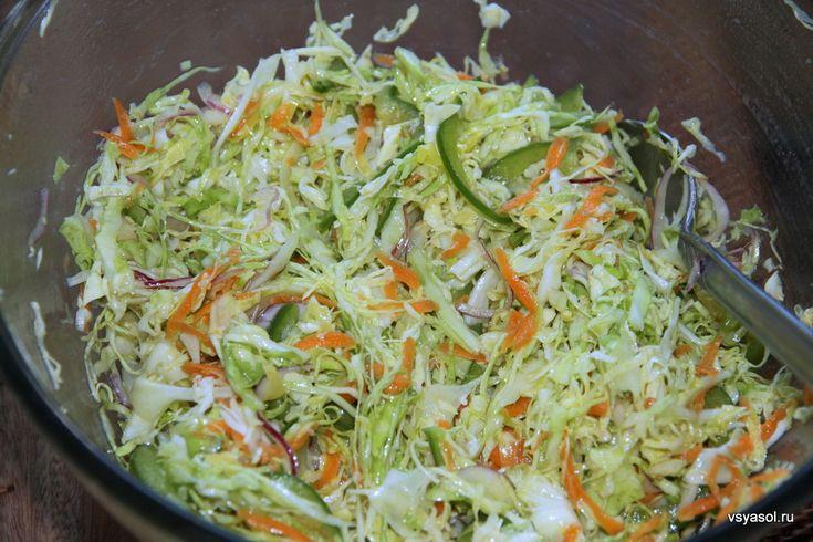 Салат изкапусты китайской