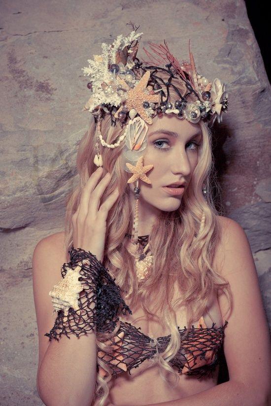 mermaid mermaidcrown crown - Mystical Halloween Costumes