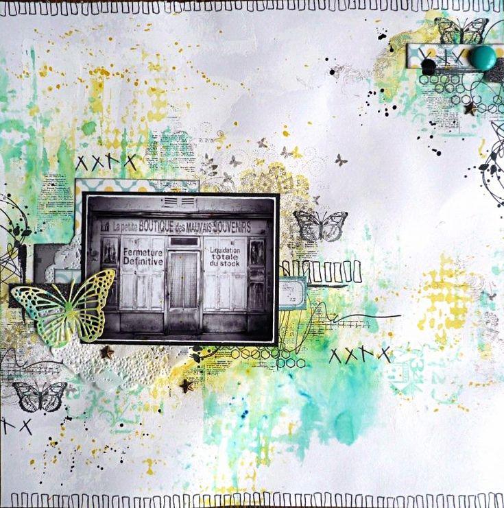 KrisMay Éphéméria . L'Encre et l'Image