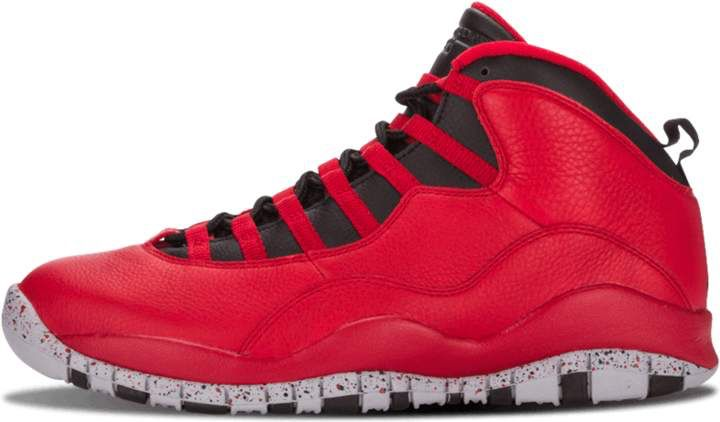 save off 45d1e 7cbcc Air Jordan 10 Retro 30th Gym Red Black  Bulls Over Broadway