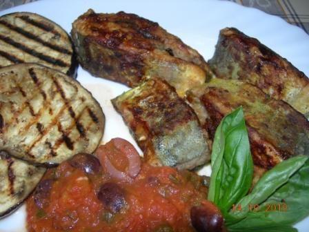 Maltese Recipe - Pan-Fried Lampuki (Dolphin Fish)