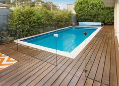 Fully Frameless Glass Pool Fencing Channel System | Everton