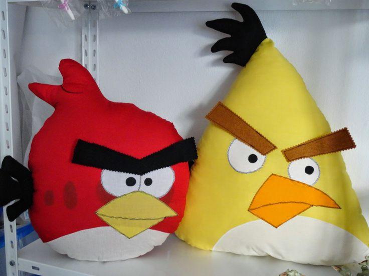 Abela Artes & Artesanato - O Blog: No reino da Passarada ( Angry Birds)