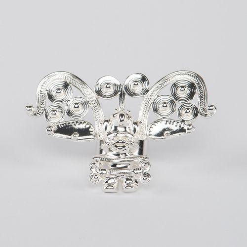 // Vergara Collection - Cacique Ring Silver - FLOR AMAZONA