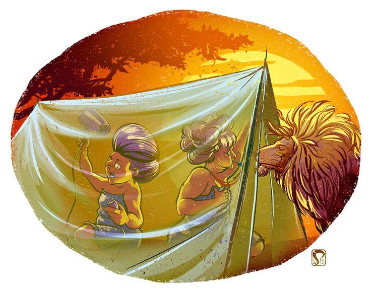 Illustration by Samuli Siirala for IKuluttaja Magazine, 2014