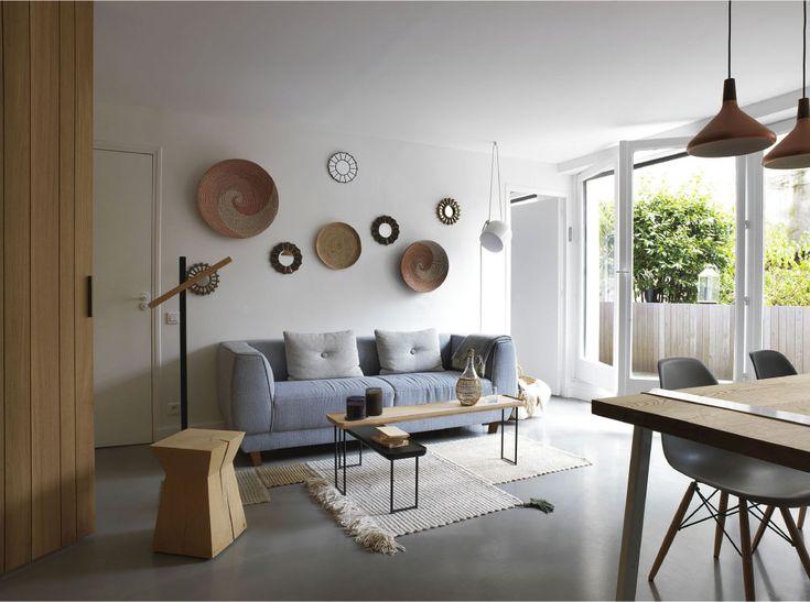 Un piccolo appartamento ripensato come open space
