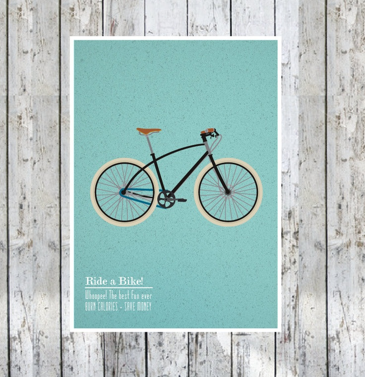 13 Best Bicycle Art Images On Pinterest Art Print Bicycle Art