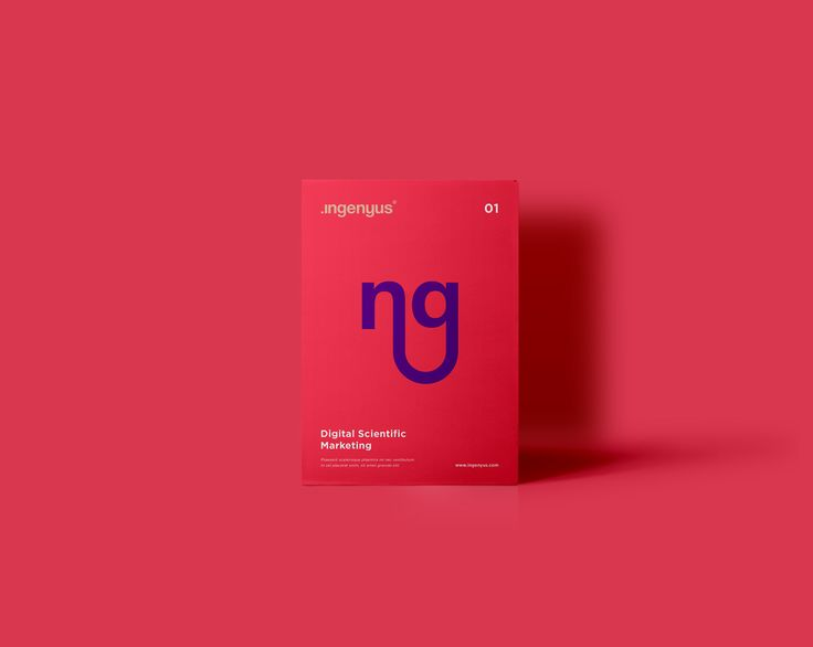 Ingenyus is a scientific marketing agency which focuses on very creative, playful and out-of-the-box solutions for the scientific market. The idea behind this was to have an ever-changing identity that presented a constant play with the original woodmark …