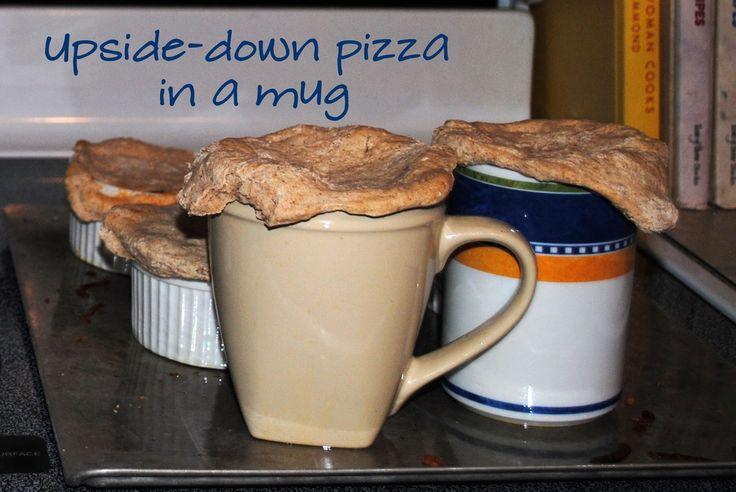 Pizza in a mug