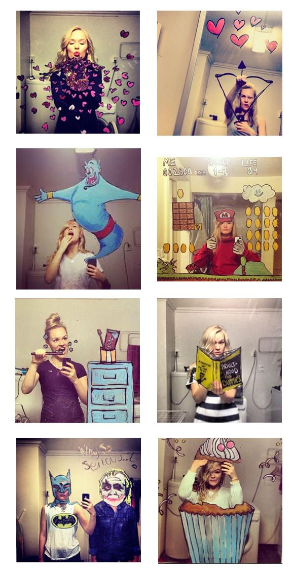 Best Selfies Art Cartoons Illustration Images On Pinterest - Brilliant mirrors reveal hidden sides selfie culture
