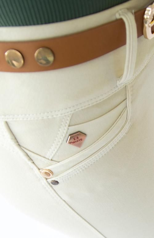 JEAN COLOR BEIGE