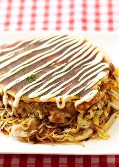 広島風お好み焼き のレシピ・作り方 │ABCクッキングスタジオのレシピ   料理教室・スクールならABCクッキングスタジオ