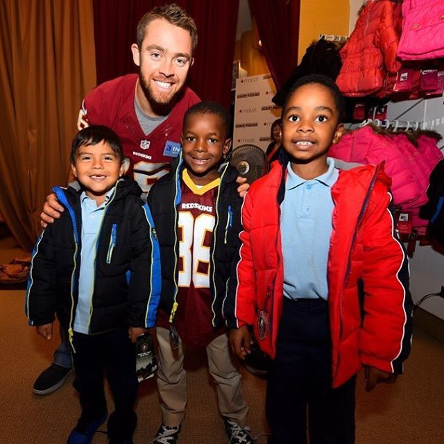 #Redskins players & wives helped 300 children pick out winter coats and hats @macys today! #HTTR #RedskinsGiveBack @RedskinsGiveBack... |  #Children #coats #hats #helped #Httr #macys #pick #players #redskins #RedskinsGiveBack #today #winter #wives