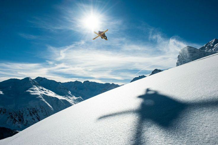 Paddy Graham in Davos, Switzerland
