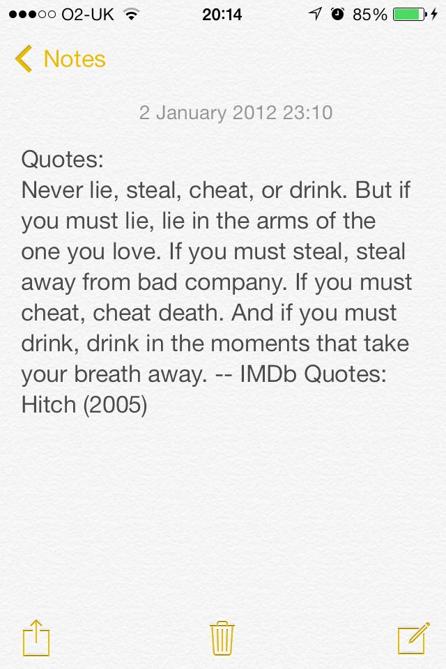 Hitch quote