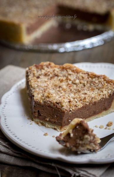 Cheesecake au nutella sans cuisson http://www.jujube-en-cuisine.fr/?p=12725