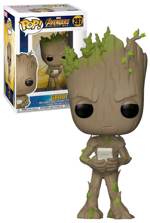 Teen Groot with Video Game Exclusive Pop Infinity War Vinyl Avengers 3