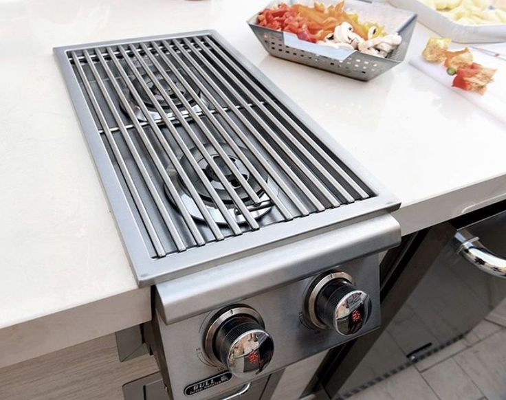 The Bull Slide In Double Side Burner Is A Great Addition To Your Bull Outdoor Kitchen With 22 000 Btu S Of Power To Co In 2020 Outdoor Cooking Burners Outdoor Kitchen