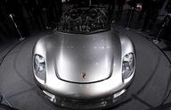 The Porsche 918 Spyder concept car