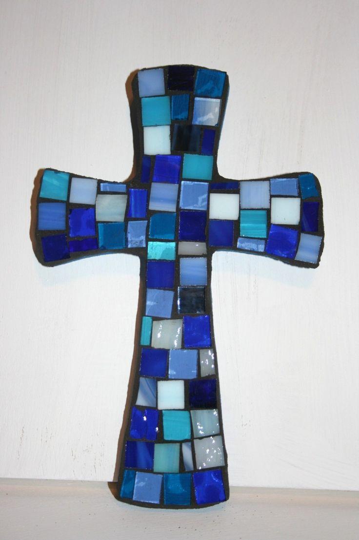 Beautiful Mosaic cross from Etsy