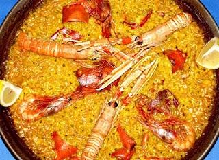< Lila y sus Recetas de Cocina > Paella de marisco