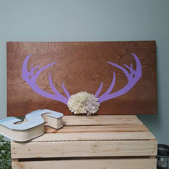 17 Best Ideas About Deer Antler Decorations On Pinterest