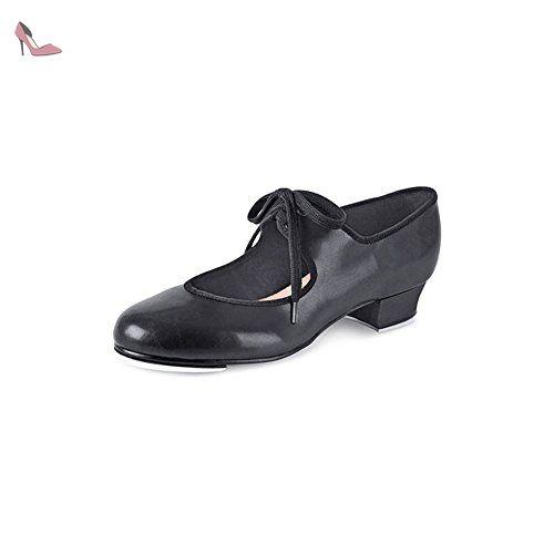 Jazz Tap, Chaussures de Claquettes Femme, Noir (Black), 34 EUBloch