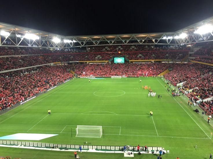 Liverpool FC, Suncorp stadium, Brisbane, Australia