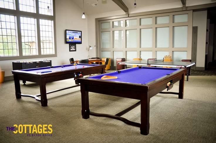 Exceptionnel Pool Table And Pingpong Tables On The 2nd Floor Of The Club House