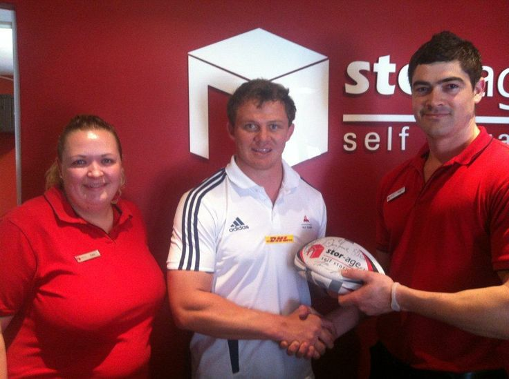 Western Province Currie Cup winning captain donated some signed rugby balls for our Create Happiness campaign