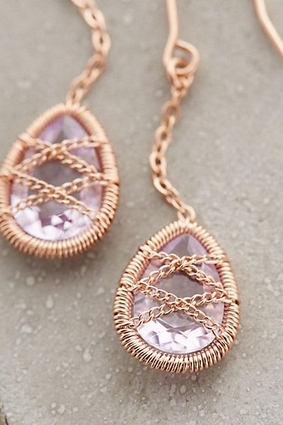 Blushed Amethyst Drops #anthroregistry